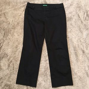 Lilly Pulitzer Palm Beach Fit Black Capri's